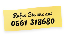 Rufen Sie uns an: 0561 318680
