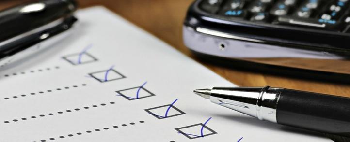 Checkliste Merkblatt Steuer